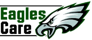 Eagles Care Logo - Stacked