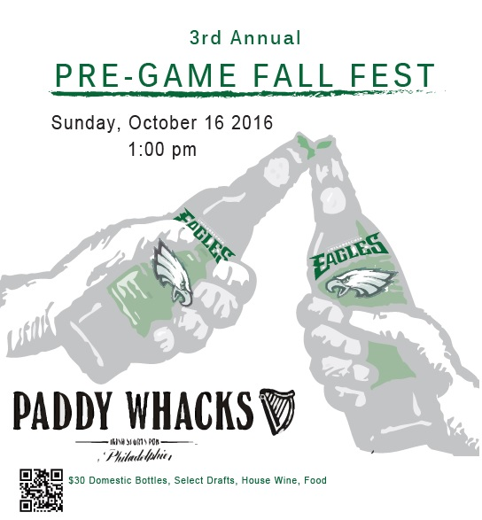 2016 Fall Fest Pregame Flyer